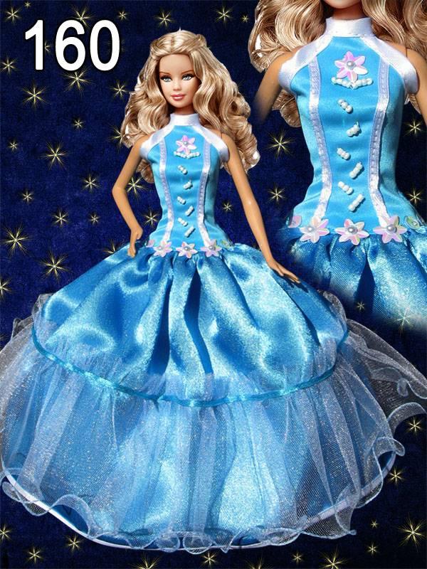 Кукле барби вечернее платье как сделать